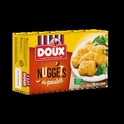 Nuggets de poulets surgelés IQF DOUX, étui de 400g
