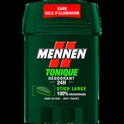 Déodorant sans alcool vert MENNEN, stick large de 50ml