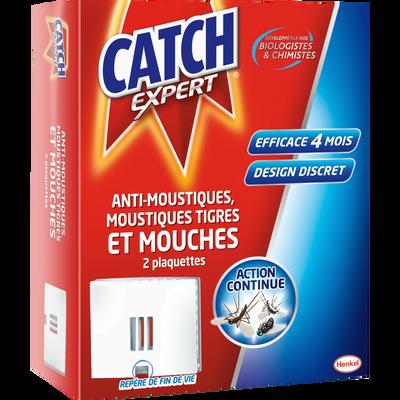Insecticide anti-volants CATCH, 2 plaquettes