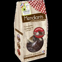 Mendiants chocolat assortis noir,lait,blanc JULES O FOURNEAUX 160g