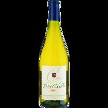 Petit Chablis Vin Blanc  Aop Union Viticulteurs, Bouteille De 75cl