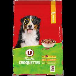 Croquettes pour chien sénior volaille etcéréales aux légumes U, paquetde 3kg