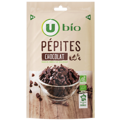 Pépites de chocolat U BIO 100g