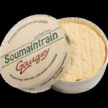 Soumaintrain Indication géographique protégée lait pasteurisé 24% de MG, 250g