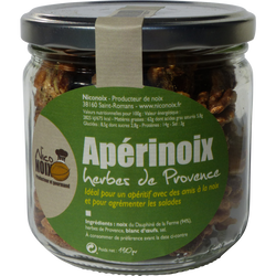 Apérinoix salées herbes de Provence NICONOIX, pot de 130g