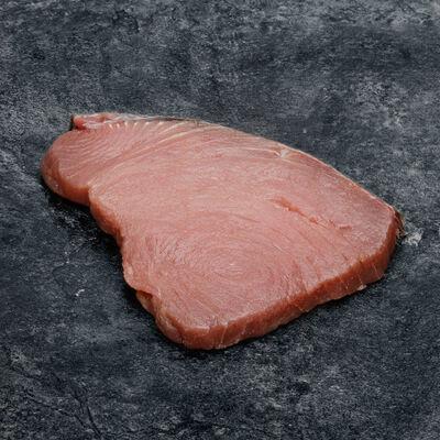 Longe de thon albacore, Thunnus Albacares, pêché en Océan Indien