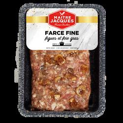 Farce fine figue foie gras, 400g
