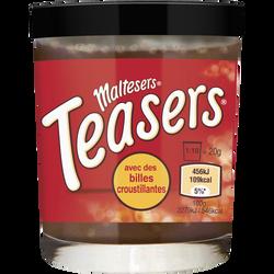 Pâte à tartiner cacao maigre avec billes croustillantes MALTESER, 200g