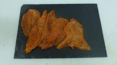 Plancha poulet provencale