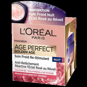 L'Oréal Soin Nuit Age Perfect Golden Age L'oreal Paris, 50ml