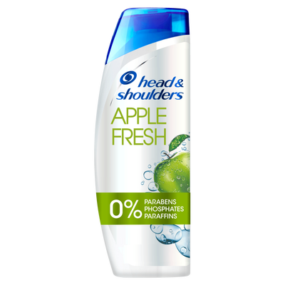 Shampoing apple fresh HEAD & SHOULDERS, flacon de 280ml