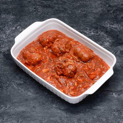 Paupiette de veau à la sauce tomate,