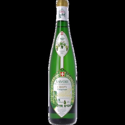 Vin blanc de Savoie Crepy Goutte or AOP, bouteille de 75cl