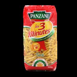 Torti cuisson rapide PANZANI, 500g