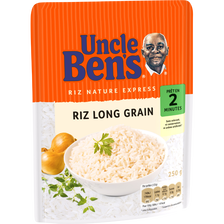 Riz Express 2mn UNCLE BEN'S, 250g