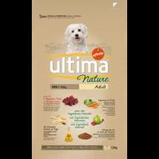 Ultima Croquettes Pour Chiens Minis À L'agneau Ultima Nature, 1,25kg