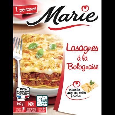 Lasagnes à la bolognaise MARIE, 300g