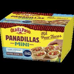 Kit mini barquitas sans piment OLD EL PASO, boîte de 281g