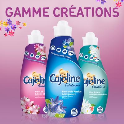 Assouplissant parfum tiaré et baies Brin de Folie CAJOLINE, 60 lavagessoit 1,5l