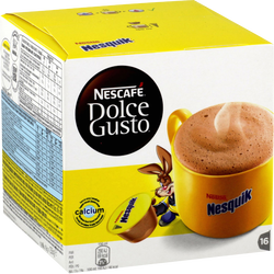 Nescafé Nesquik DOLCE GUSTO, 16 capsules soit 256g
