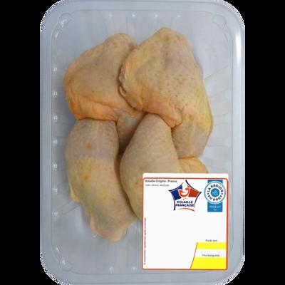 Cuisse de poulet jaune, France, 6 pièces