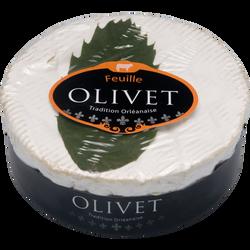 Olivet feuille au lait pasteurisé 22%de MG JACQUIN 250g