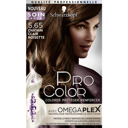 Coloration PRO COLOR, châtain clair noisette 5.65