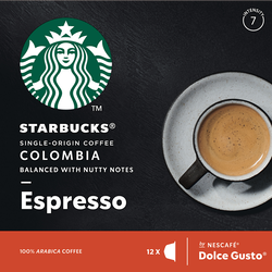 STARBUCKS by dolce gusto Colombia, x12 soit 66g