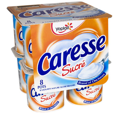 Caresse Nature Sucré x 8