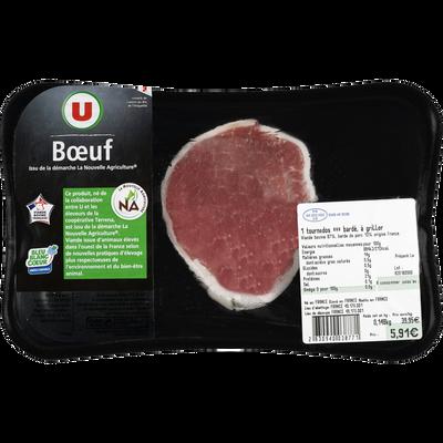 Viande bovine - Tournedos filet Genisse, U, Nouvelle agriculture, France, 1 pièce