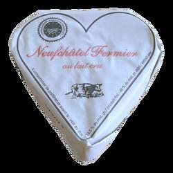 Coeur de Neufchâtel AOP fermier au lait cru Coeur de Bray, 24,5% de MG, 200g