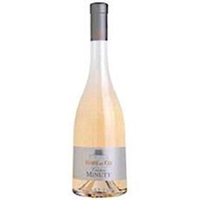 """Vin rosé AOC Côtes de Provence """"Château Minuty"""" 12.5°, bouteille de 75cl"""