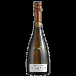 Vin blanc pétillant Crémant D'Alsace brut ARTHUR METZ, 75cl