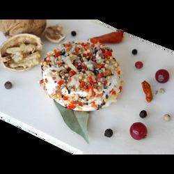 Fromage de chèvre au lait thermisé saveur pempa (épices) LOIC CHUPIN,18% de MG, x3 soit 120g