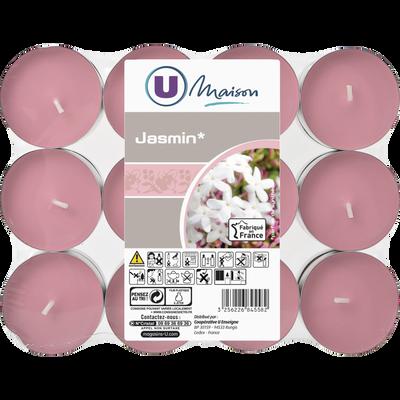 Chauffe-plats U MAISON, rose/jasmin, 24 unités