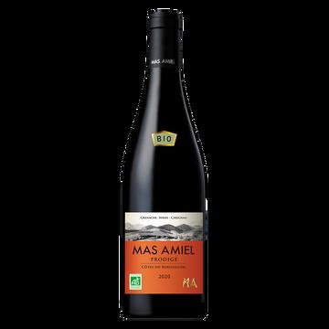 Roussillon Vin Rouge Biodynamie - Côtes Du Roussillon - Aop - Mas Amiel Cuvée Prodige 2020 - 75cl