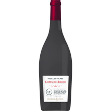 Vin rouge AOP Côtes du Rhône vieilles vignes de Michel d'Azilles, 13.5° bouteille de 75cl