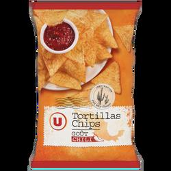Tortillas chips chili U, 300g