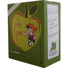 Jus de pomme 100% pur jus naturel et artisanal, fontaine de 3l