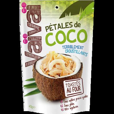 Pétales de coco terriblement croustillants VAIVAI, 40g