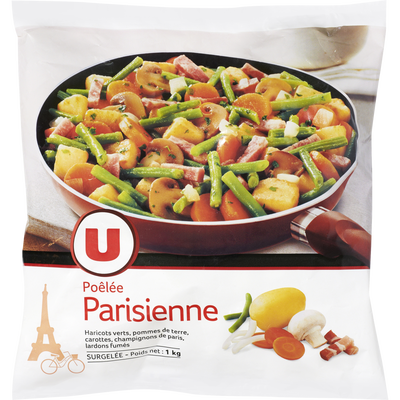 Poêlée parisienne U, 1kg
