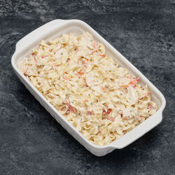 Salade Marco polo pates surimi