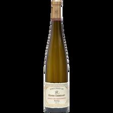 Riesling vin blanc d'Alsace AOC grand cru Kaefferkopf, HENRI EHRHART,b outeille de 75cl
