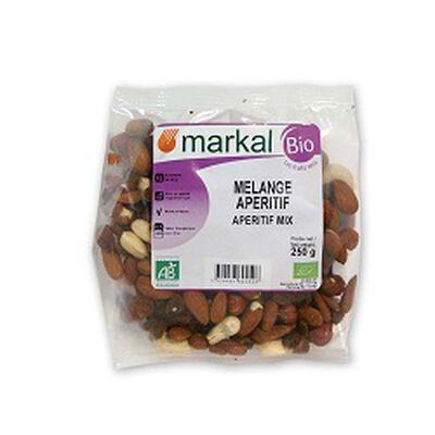 Mélange apéritif BIO, MARKAL, le paquet de 250g