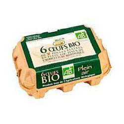 6 Gros oeufs bio BABY COQUE