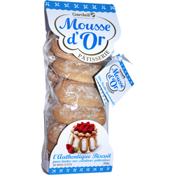 Biscuits cuillère Mousse d'Or GARDEIL, 200g