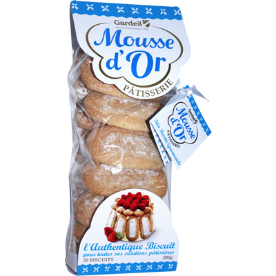 Biscuits cuiller Mousse d'Or GARDEIL, 200g