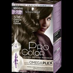 Coloration PRO COLOR, châtain clair cendré 5.16