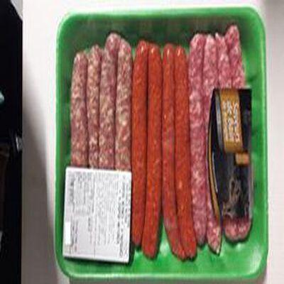 Chipos x4+ 4 Merguez x4 + 4 Chipos x4 Saveurs de Bain de Bretagne 700g
