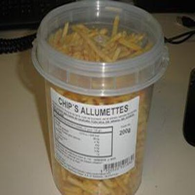 CHIPS ALLUMETTES 200GRS